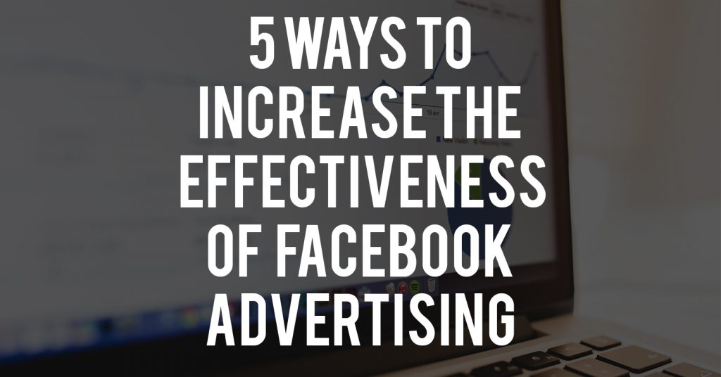 the effectiveness of facebook advertising or In order to understand the value of a facebook ad impression, nielsen analyzed over six months of responses from 800,000 users to more than 125 facebook ad.